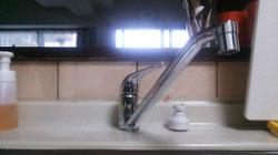 キッチンレバー水栓の交換